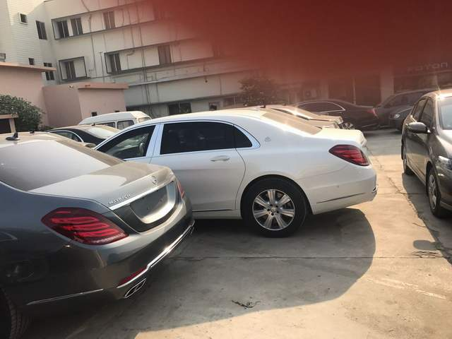 Maybach Parking Lot Pakistan