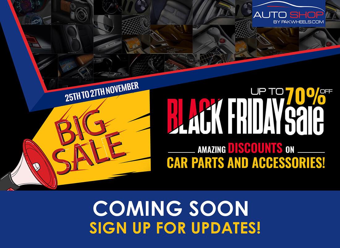 PW Auto Shop Black Friday 2016 Main Image