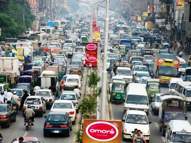 Roads of Lahore