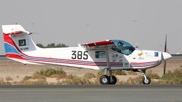 Super Mushshak trainer aircrafts