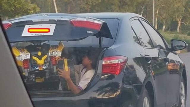 child passenger safety stop hauling kids in car trunks