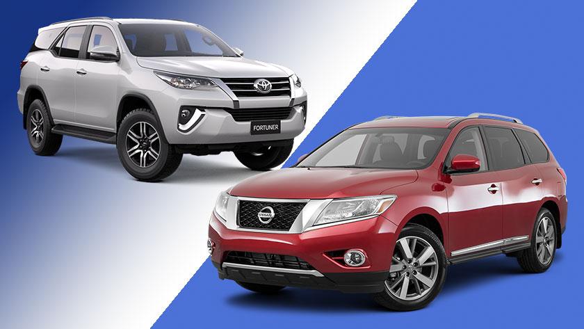 Toyota-fortuner-vs-nissan-pathfinder