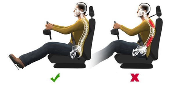Tips for Maintaining Pain-free Posture When Driving a Car - News ...