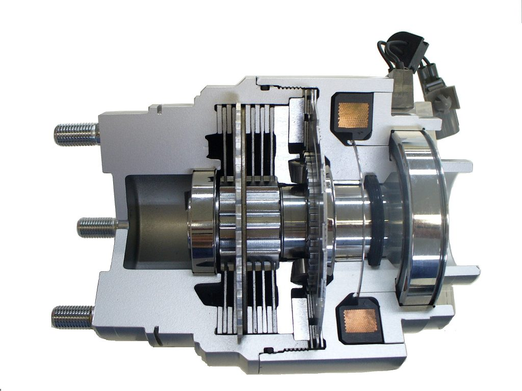 AWD Electromagnetic Coupling