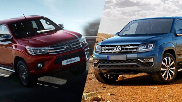 The Clash Of Pickup Trucks: Toyota Revo Vs Volkswagen Amarok