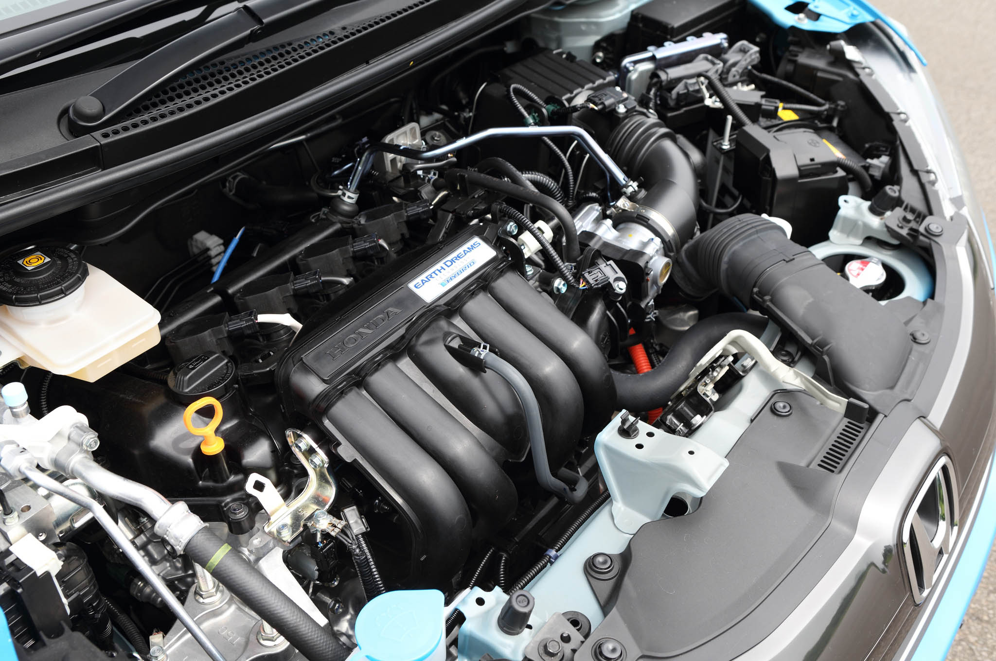 Honda Fit Hybrid F Package Engine
