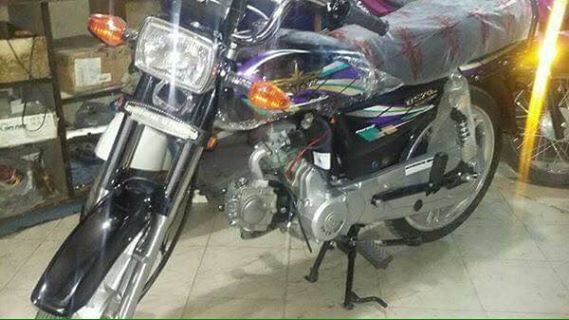 Union star brings automatic 70cc motorbike in pakistan for Motor cycle without gear