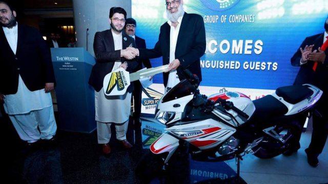 Super Power Launches 200cc Sports Bike In Pakistan