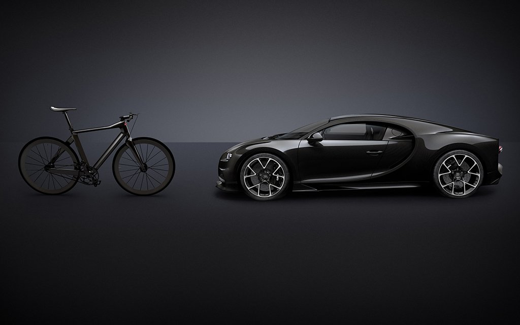 this bugatti chiron inspired bicycle cost as much as a turbo civic and altis grande. Black Bedroom Furniture Sets. Home Design Ideas