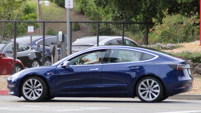 Model 3 leaked shots Jalopnik