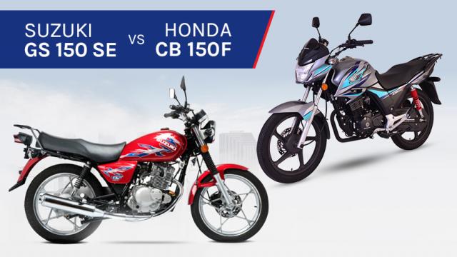 Honda Cb150f Vs Suzuki Gs150se We Draw A Comparison To
