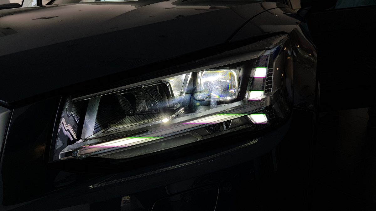 Headlamps of Audi Q2