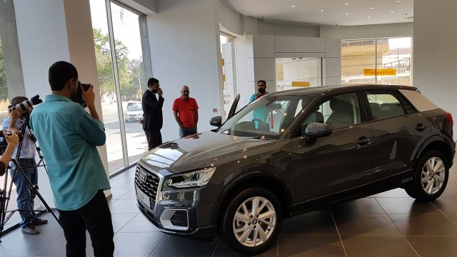 Audi Q2 launch in Pakistan