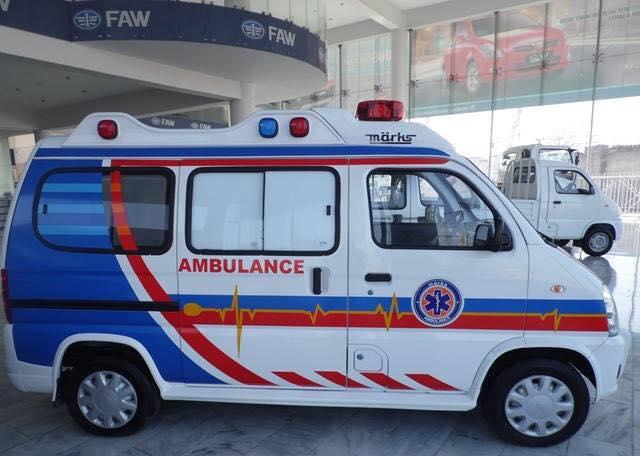 Ambulance Pakistani Suzuki