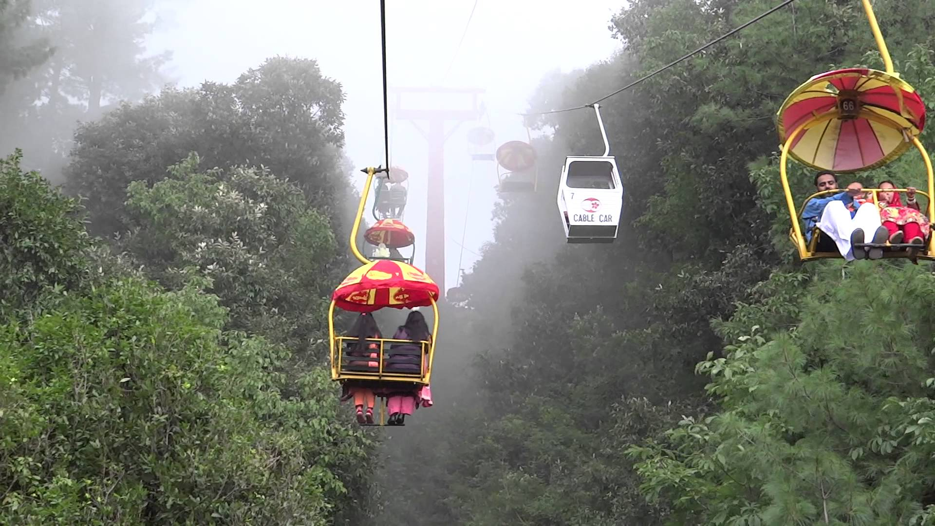 11 Dead Two Injured As Chair Lift Falls In Muree