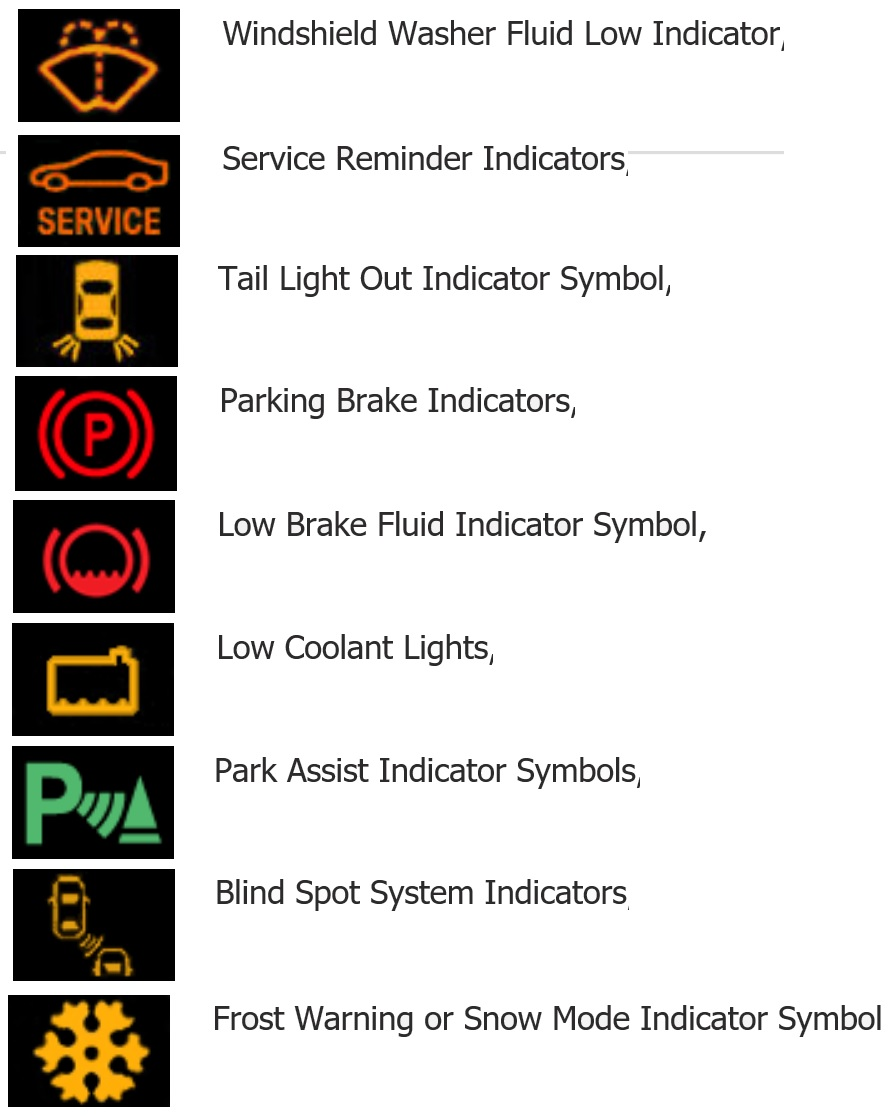 Understanding The Warning Signs On Your Cars Dashboard Display - Car image sign of dashboardmeaning of the warning lights on your dashboard car news auto lah