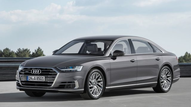 audi a8 2018 a semi autonomous sedan with a brand new design. Black Bedroom Furniture Sets. Home Design Ideas