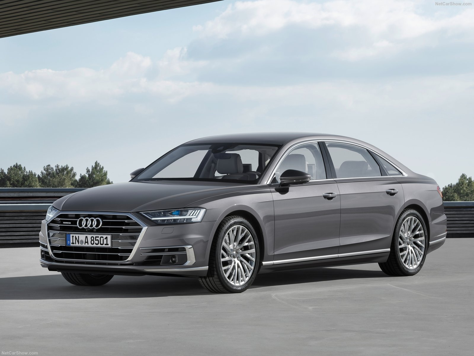 Audi A8 2018 A Semi Autonomous Sedan With A Brand New Design