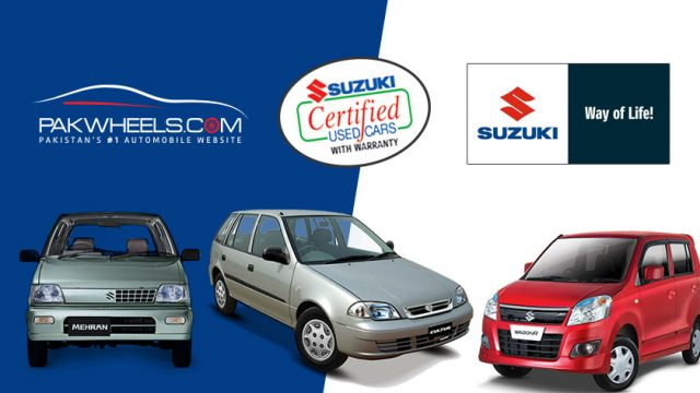 Certified Used Cars >> Pakwheels Com And Pak Suzuki Launches Online Suzuki Certified Used