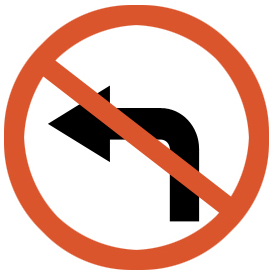 no-left-turn