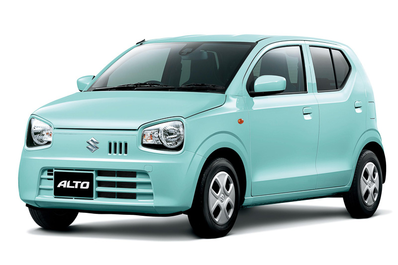 suzuki-alto-french-mint-pearl-metallic-front-three-quarters