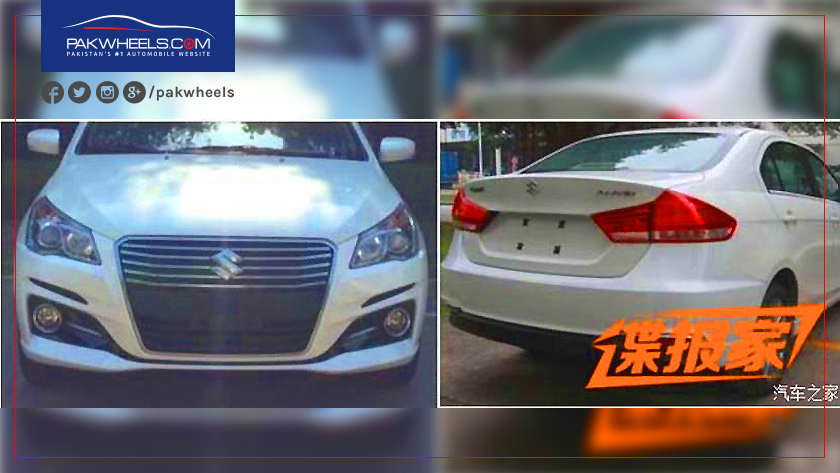 Suzuki-ciaz-spied-in-china
