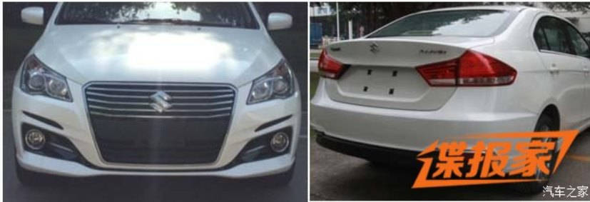 suzuki-ciaz-facelift-spied-in-china