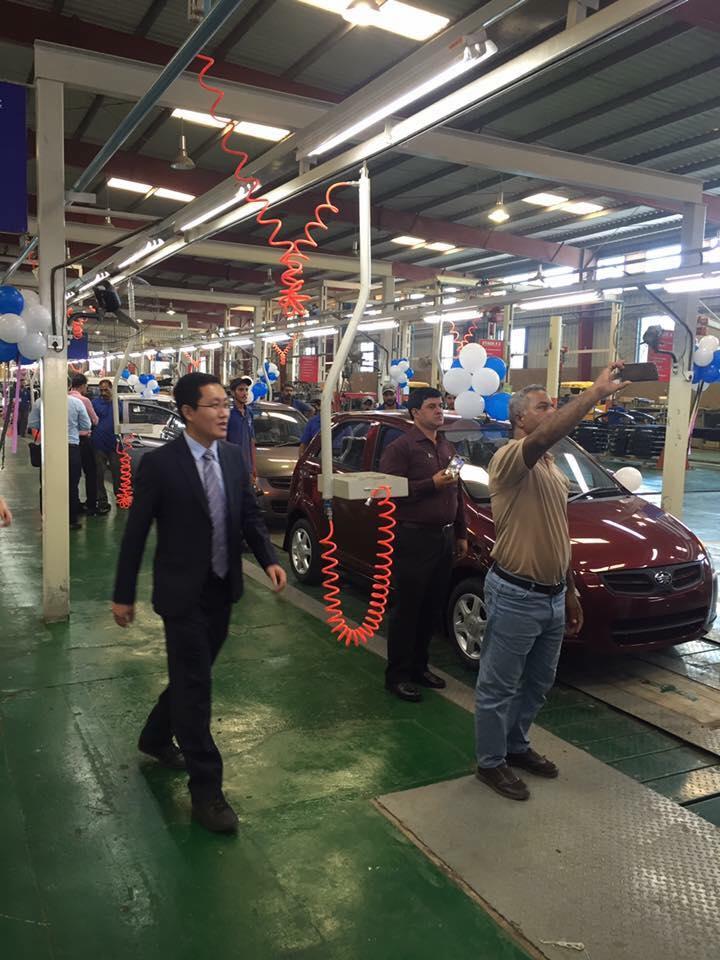faw v2 assembly line