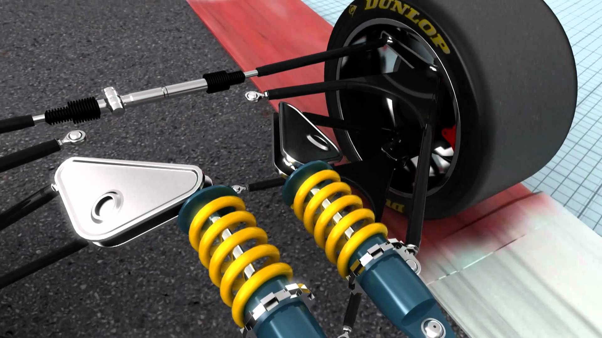unsprung weight race car
