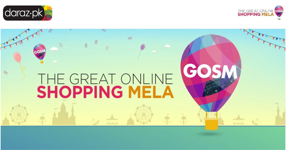 The Great Online Shopping Mela - Daraz.pk