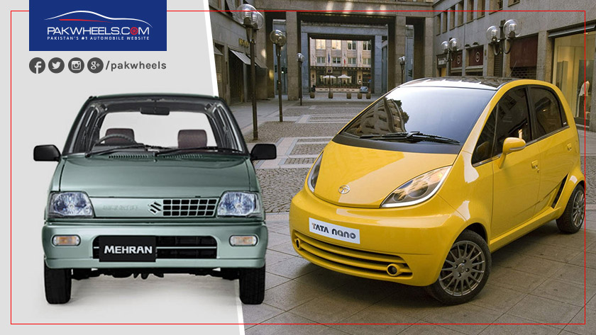2018 suzuki mehran. plain mehran tata nano and suzuki mehran  same purpose but miles apart inside 2018 suzuki mehran