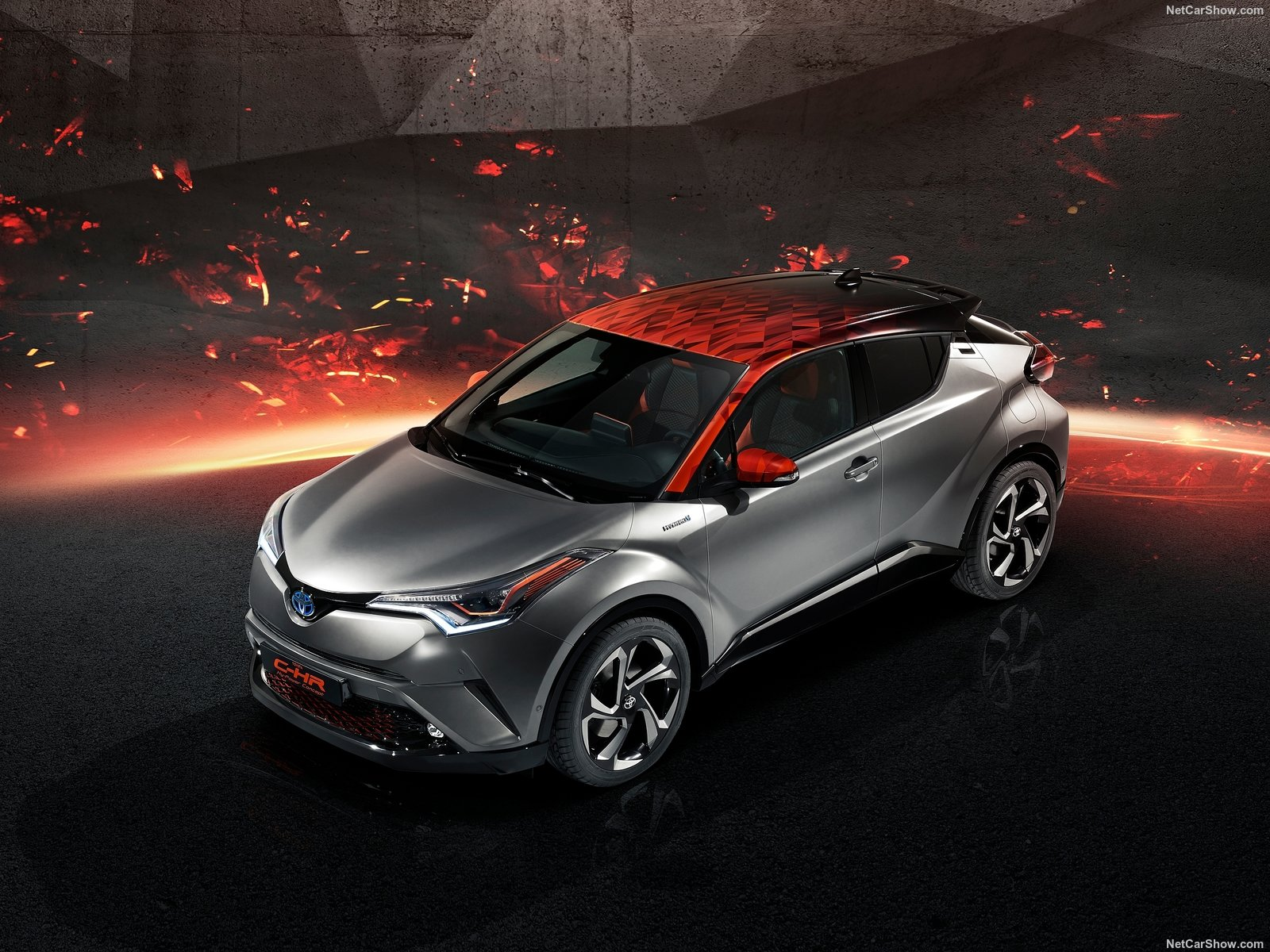 New Toyota C Hr 2018 Hy Power Concept Unveiled Pakwheels