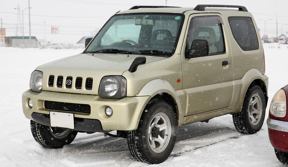 2018 suzuki jimny spy shots and leaked images jimny. Black Bedroom Furniture Sets. Home Design Ideas
