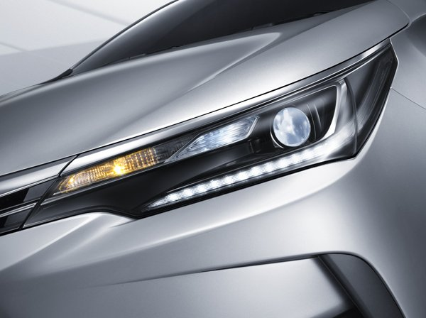 Toyota Corolla Altis Facelift Hi Beam Led Head