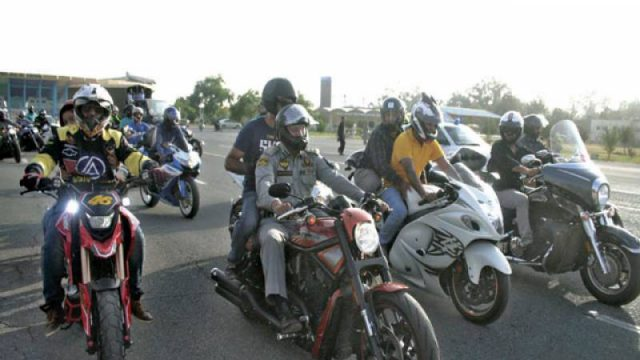 Islamabad Traffic Police Holds Helmet Awareness Rally
