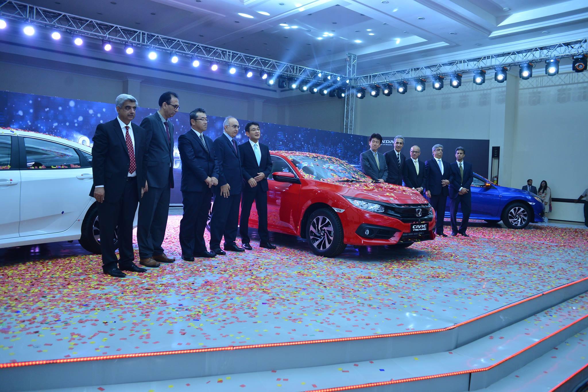 2016 Honda Civic Launch Event