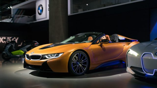 2018 Bmw I8 Roadster To Go On Early Next Year