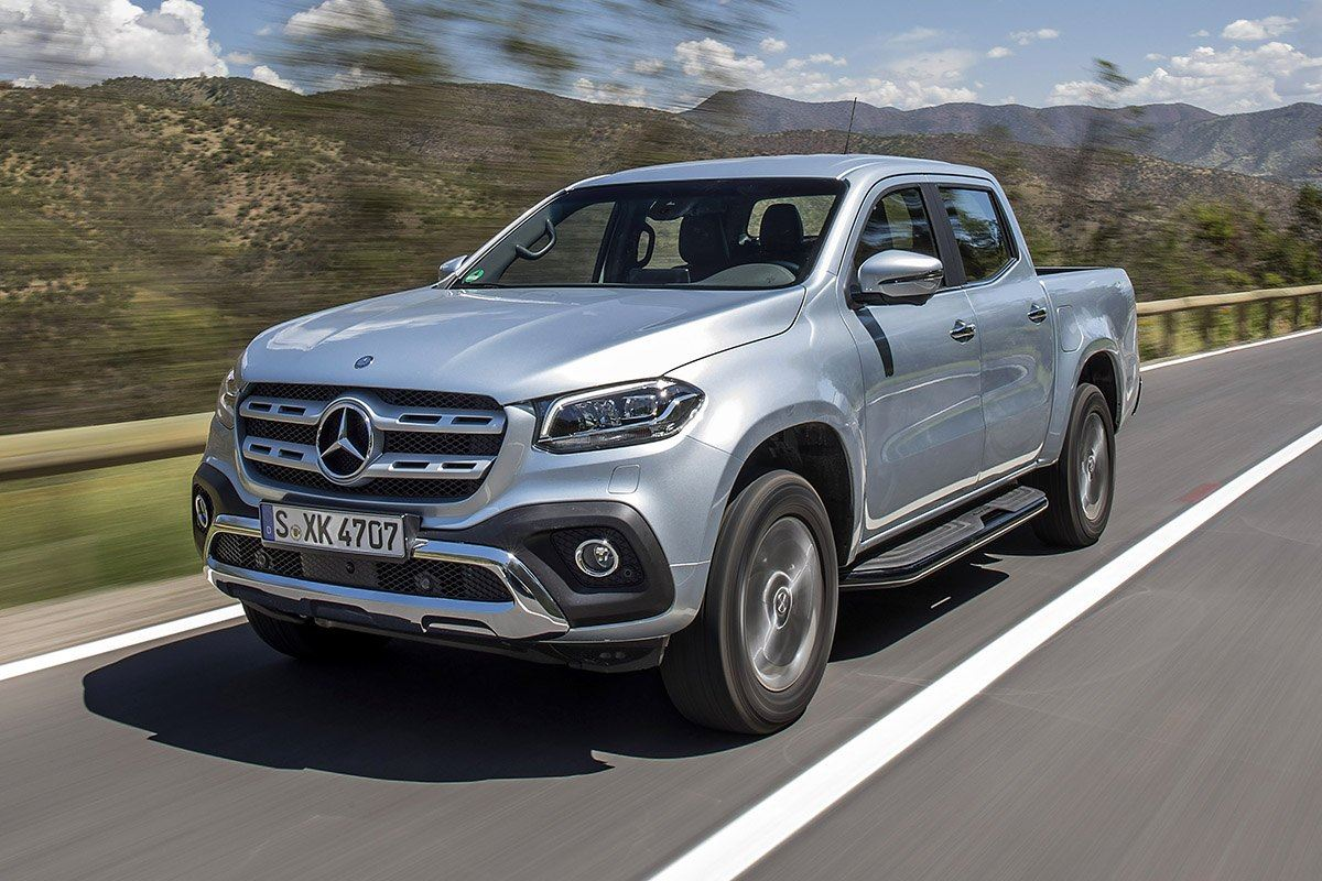 2018 mercedes benz x class luxury pickup to be launched in for Mercedes benz 4 x 4