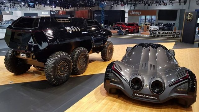 Devel Sixteen Price 2017 >> World witnesses a new SUV: The Devel Sixty 6x6 - PakWheels Blog