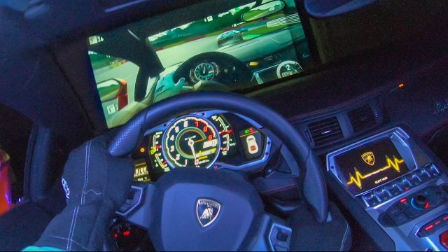 Real Lamborghini As An Xbox Controller A Mixture Of Video Game Lunacy Immense Free Time And