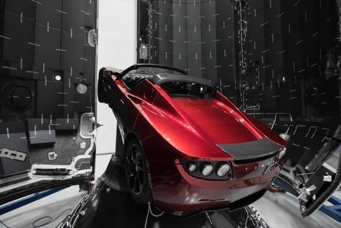 Image result for Tesla Roadster 1.0 Mars