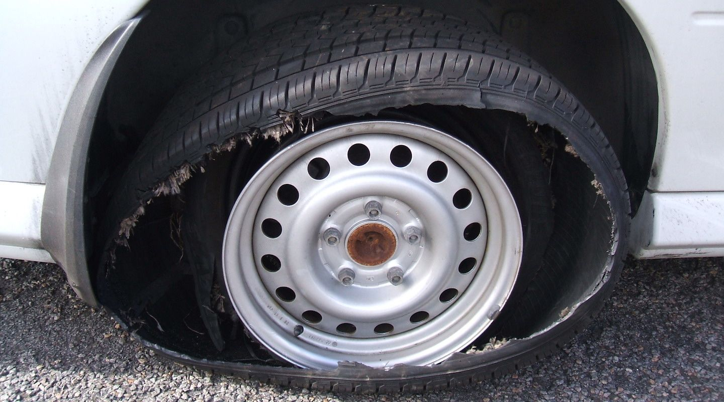 tyre-blowout