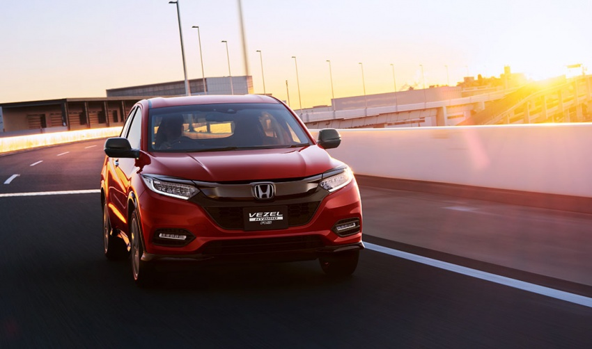 2018 Honda Vezel facelift launching on 15th February - PakWheels News