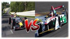 Formula E vs Formula 1