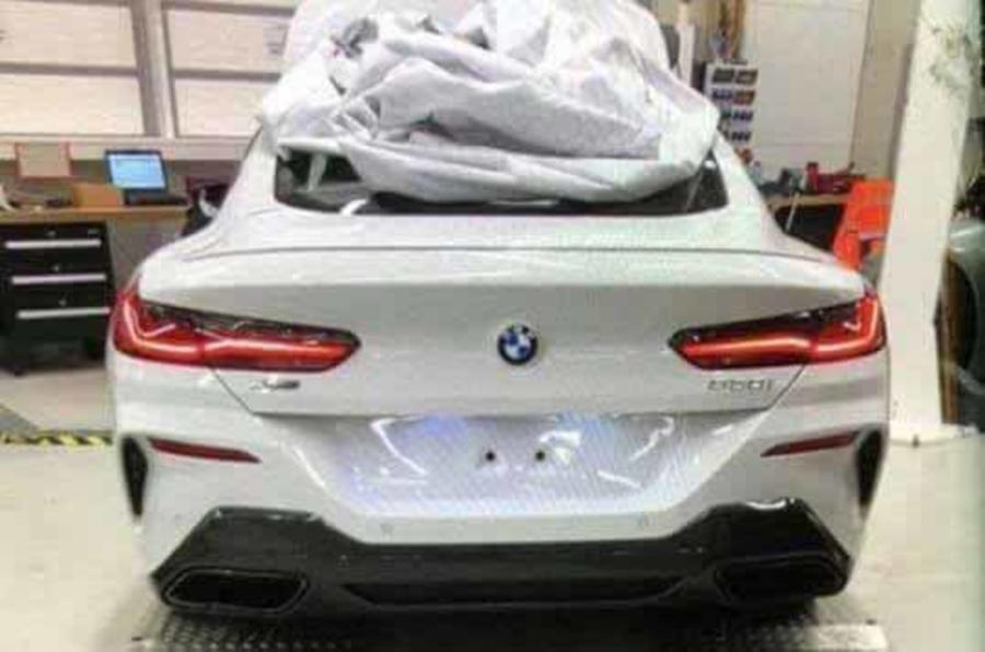 Upcoming Bmw 8 Series Images Leaked News Articles