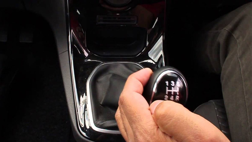 reverse gear lever