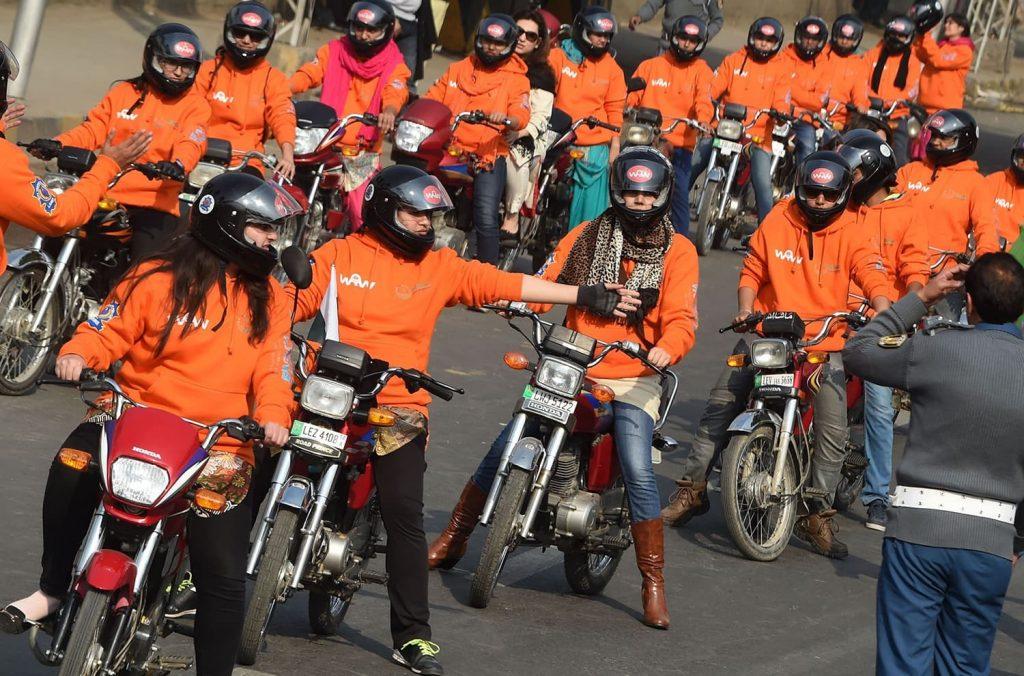 women on wheels project