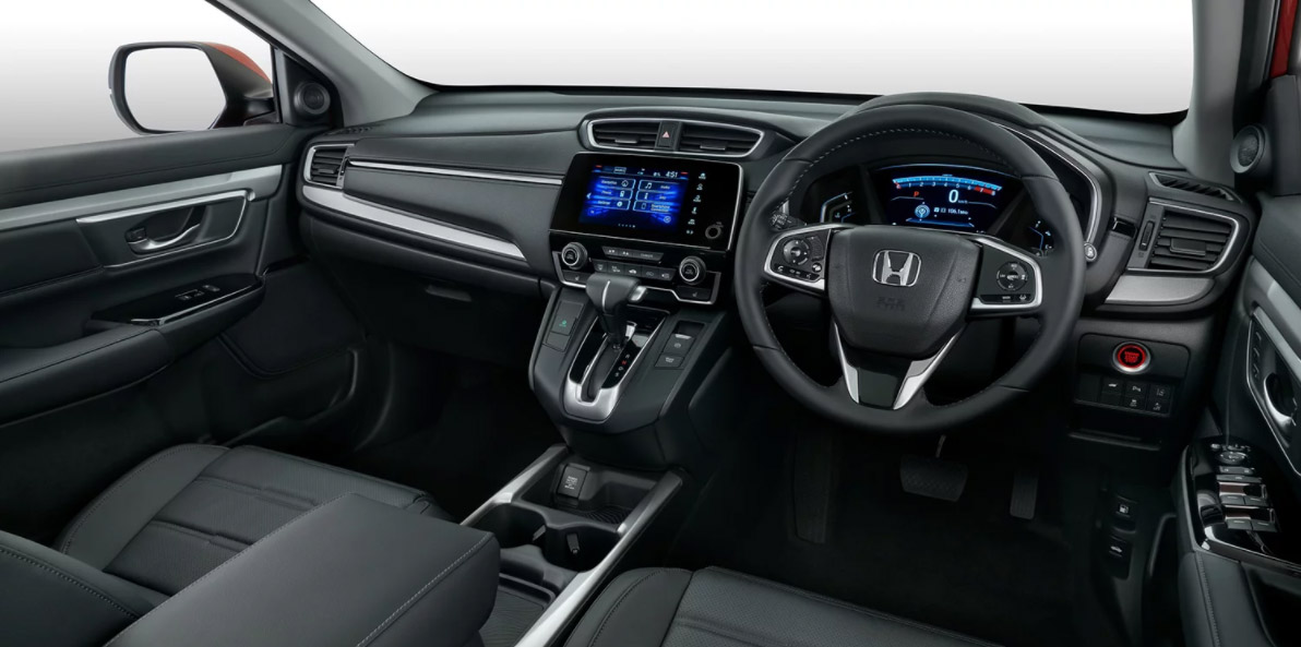 2018 honda cr v is big on features but with an equally big for Interior honda crv 2018