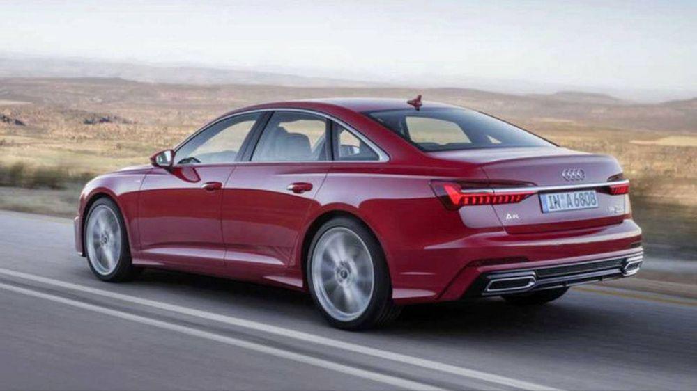 Audi A6 Back