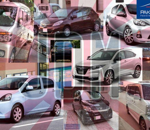 Top 10 JDM cars in Pakistan